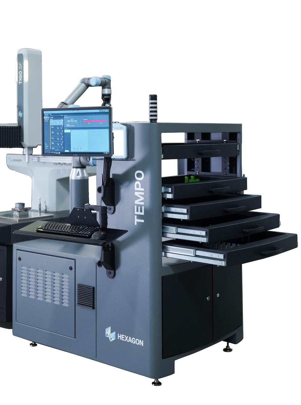 Le contrôle qualité robotisé chez Alloy Specialties