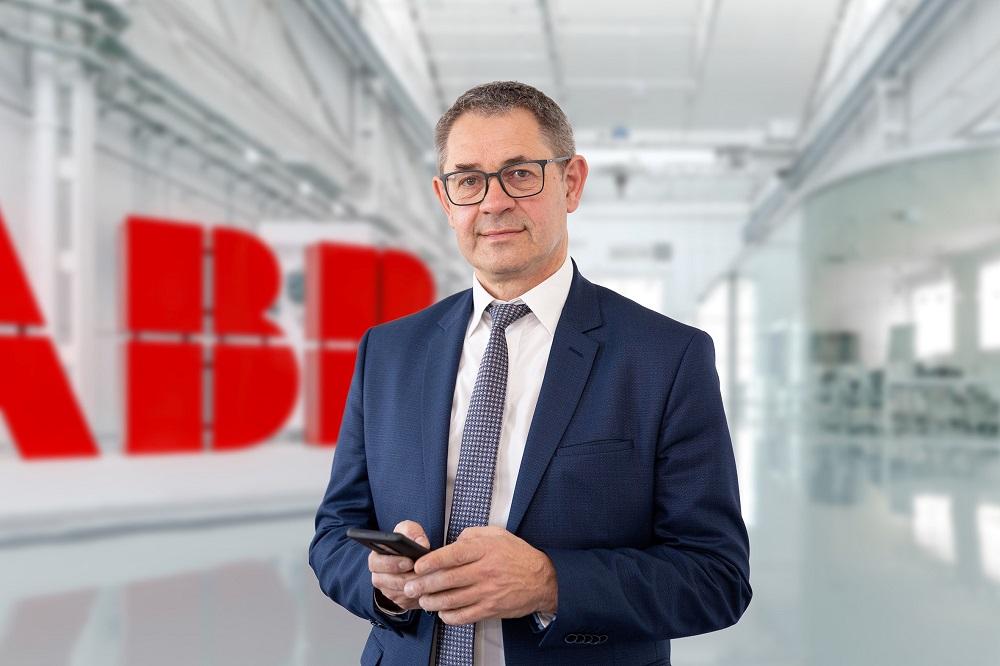 Fabien Laleuf, nommé président d'ABB France
