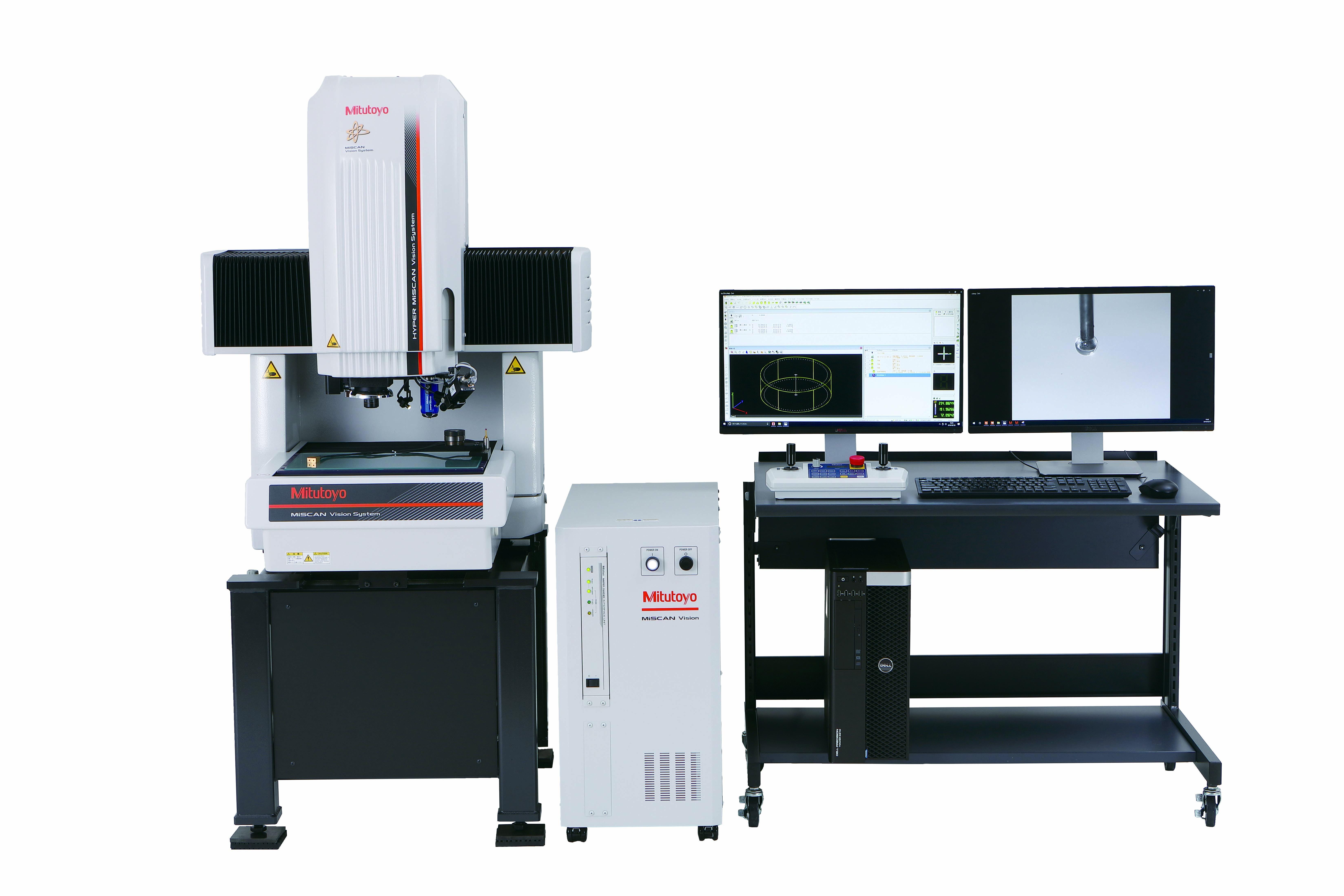 Système de mesure par analyse d'image et scanning