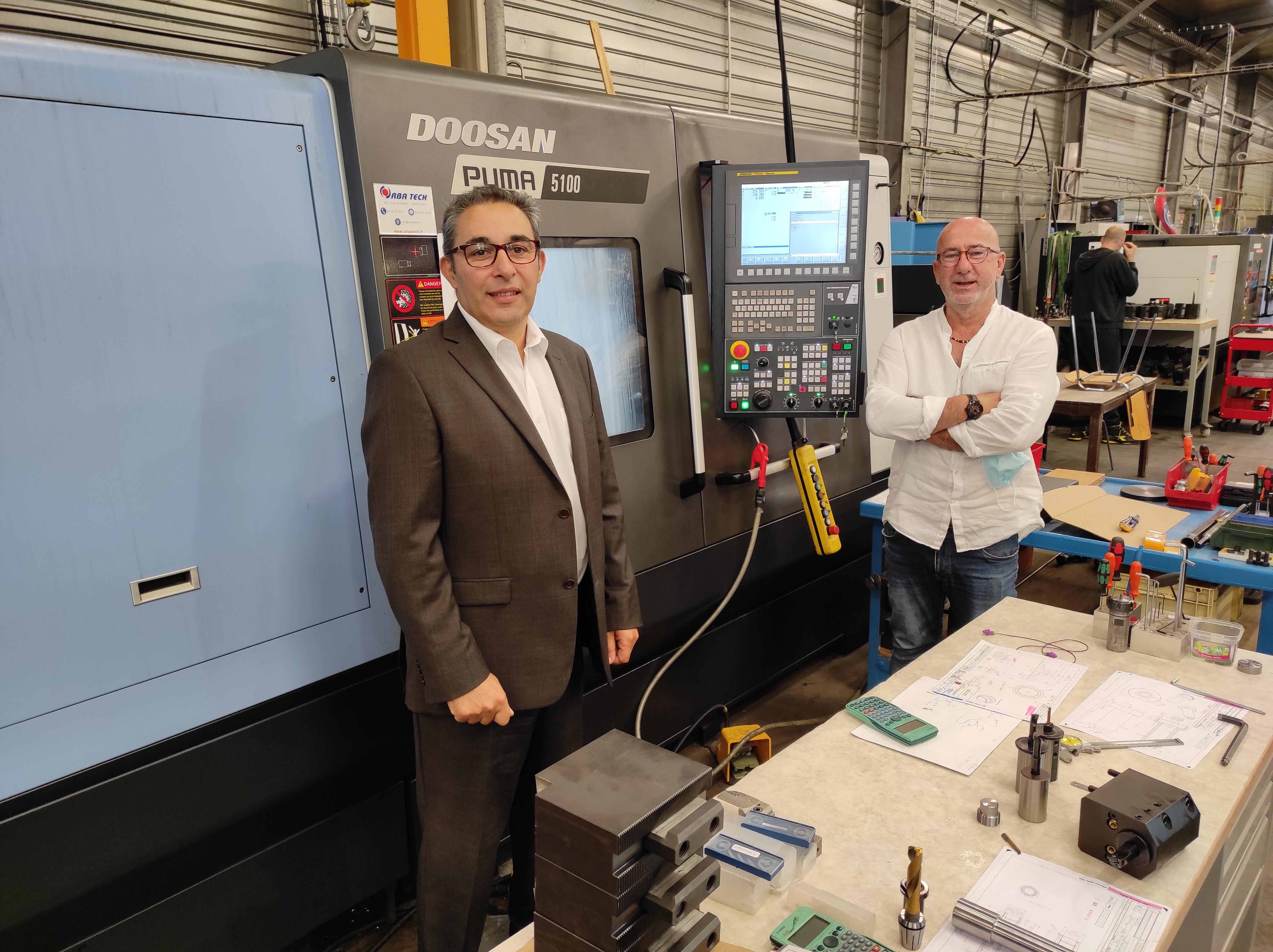Un vrai partenariat Mercier Industrie – Doosan – Orba Tech