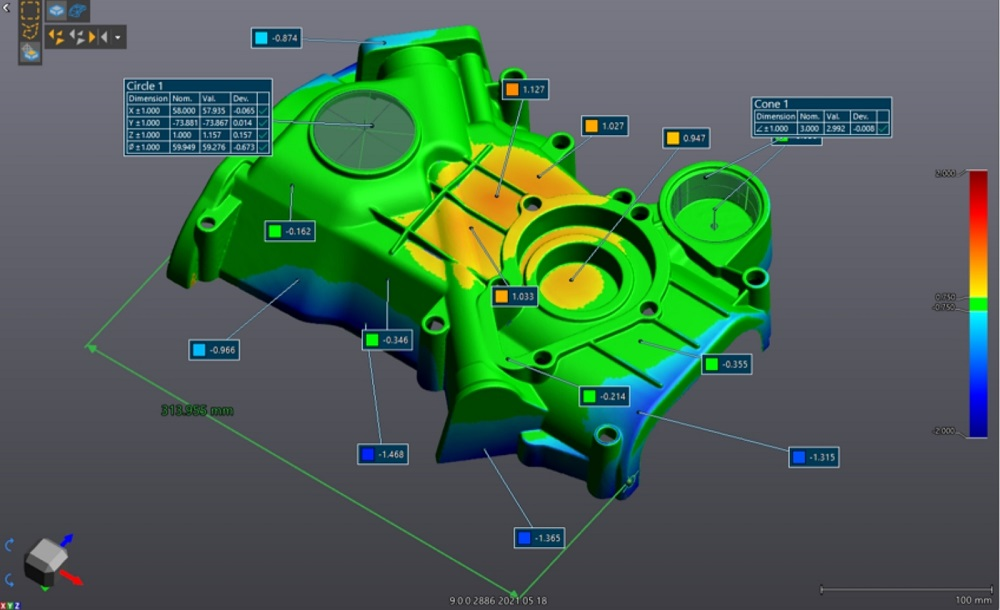 Nouvelle version de la plateforme logicielle 3D de Creaform